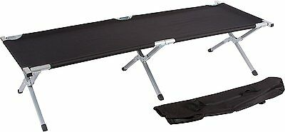 Trademark Innovations Aluminum Portable Folding Camping Bed & Cot - Portable Bed