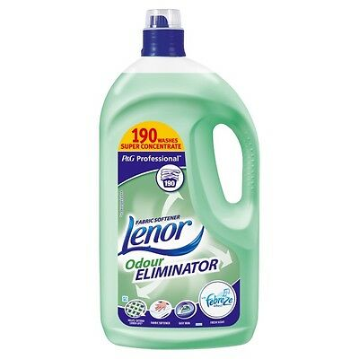 Lenor Professional Fabric Conditioner Odour Eliminator 3.8Ltr 190 Wash