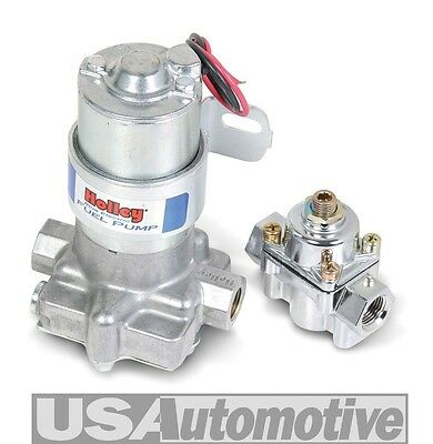 Holley 12-802-1 -  110 GPH Blue Electric Holley Fuel Pump With Regulator