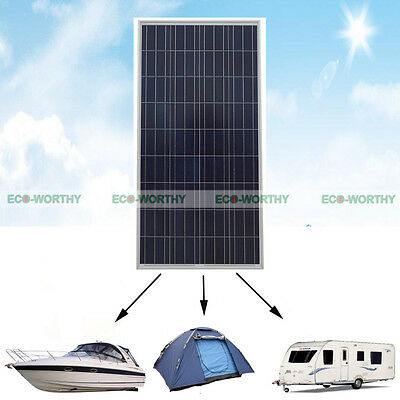 160W 12V PV Power Solar Panel Energy Saving for Plug&Play Home Roof System