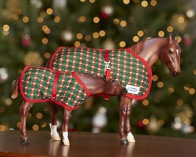 Breyer Horses Xmas Mare and Foal Eve and Claus #712165
