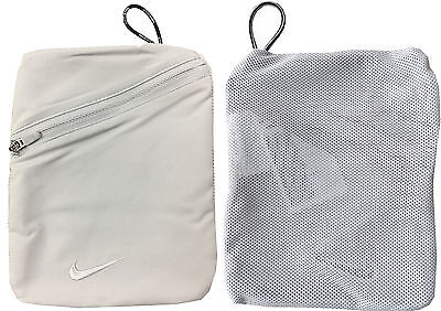 "Nike Golf Valuables Pouch Accessories Bag - 1st Class Post - 5"" X 7"" Mesh"