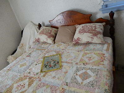 Antique Handmade Bed - Price Reduced!