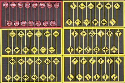 Tichy Train Group HO #8235 Whistle Post 16pcs NP Style - See through