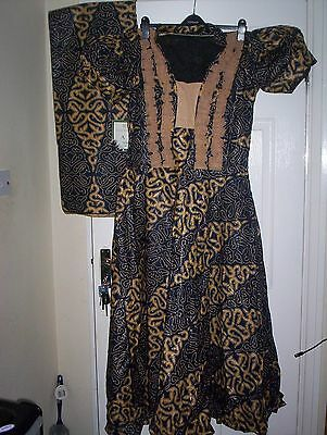 Traditional African Women Outfit/dress/suit Bust 40 Size 14