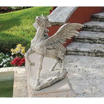 Ancient Greek Mythology Grand Pegasus Winged Horse Classic Garden Sculpture