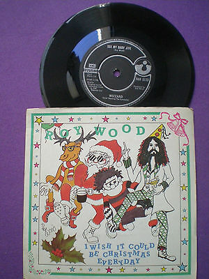 ROY WOOD / WIZZARD ...Christmas... UK 45 1984 Re GLAM ROCK 1973 E.L.O. ELO