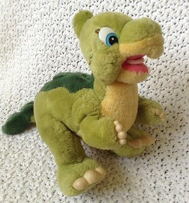 """Vintage Land Before Time 12"""" Ducky Plush JC Penny 1988 Rare Cute Rubber Toes"""