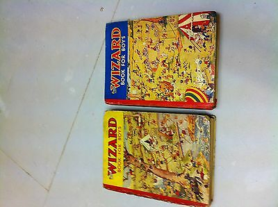2 Wizard Annuals 1937 1938 1St Ed And 2Nd Ed