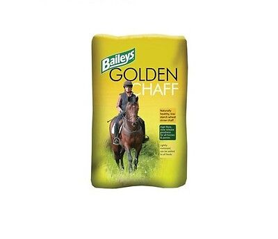 Baileys Golden Chaff 12.5kg or 25Kg 1 or 2 bales Horse Food feed