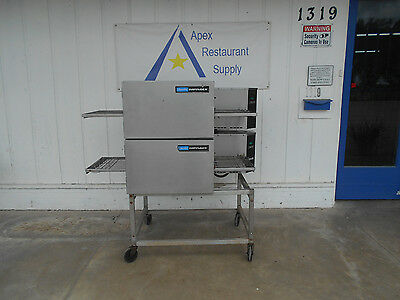 Lincoln Impinger 1132 Double Stack Conveyor Oven  #2134