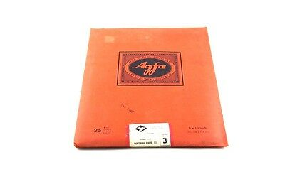 "187736- Vintage Agfa Portriga Rapid 118 Double Weight 8""x10"" Fiber Paper"