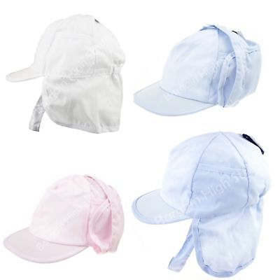 Baby Legionnaire Hat Summer Sun Boy & Girl Neck Covering Peak Baseball Cap