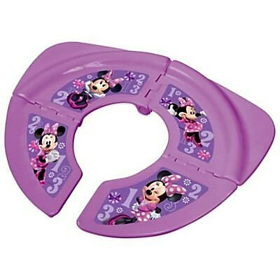 portable potty seat for toddler Disney Minnie Mouse Travel Folding pink Toilet