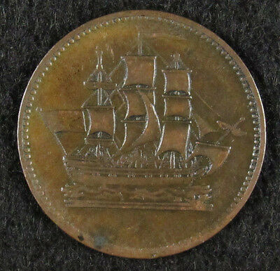 Prince Edward Island Ships, Colonies, And Commerce Token 1.27