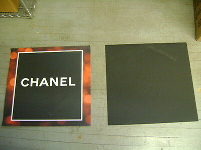 Chanel Magnetic  Vinyl  Square Sign