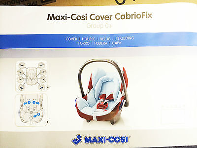 Maxi Cosi Replacement Spare Cover For Cabriofix Car Seat Bnip Genuine Covers