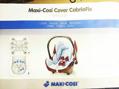 New Maxi Cosi Replacement Spare Cover For Cabriofix Car Seat Bnip Genuine Covers