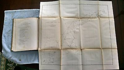 Sketch A - Primary Triangulation from New York to Maine 1865 US Coast Survey Map