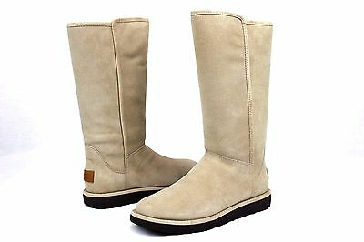 a8539588f58 NEW NWOB WOMENS Size 6 Cream Ugg Abree Ii Leather Sheepskin Lined ...