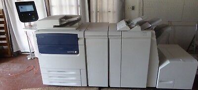 Xerox Color C75 (One Private Owner) with Booklet Maker & SquareFold®Trimmer
