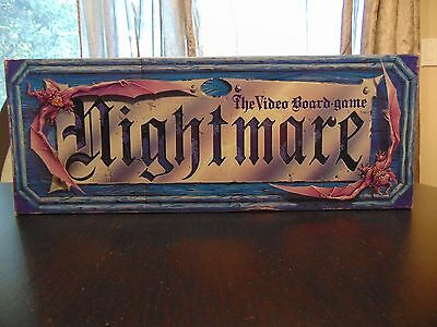 Nightmare I Video Board Game VHS Vintage Chieftain - 100% Complete Good Cond 1