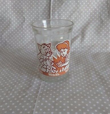 Tom and Jerry The Movie Welchs Collectible Jelly Jar Glass