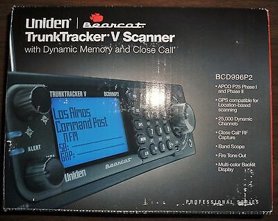 UNIDEN BCD996P2 SCANNER with DMR UPGRADE INCLUDED!