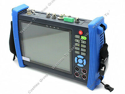 """Portable IPC-8600MOVT 7"""" Touch HD IP CAMERA DISPLAY TDR PTZ POE TESTER DC 12V/2A"""