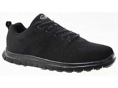 Orthaheel Scholl Orthotic Men's Fanfare sneaker- Black