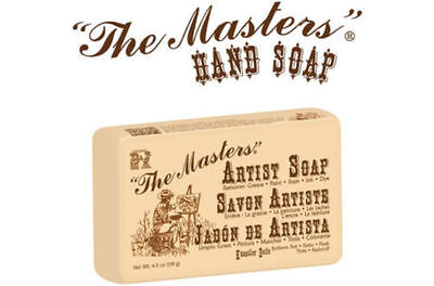 Original B&J The Masters Artists Hand Soap - Gently Removes Oil, Acrylic, Ink