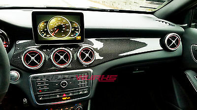 Mercedes Carbon Fibre Dashboard Right Hand Drive AMG CLA45 GLA45 W117 X156
