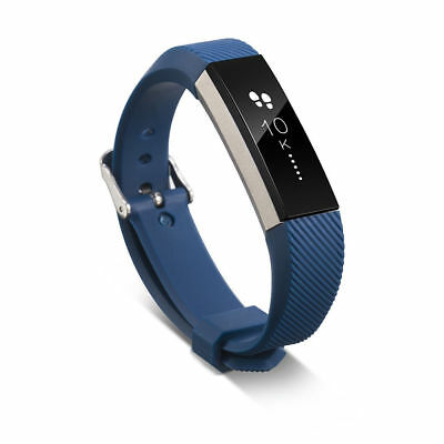 Silicone Replacement Wristband Metal Buckle Watch Band Strap For Fitbit Alta/HR
