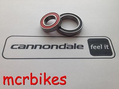 "Tune Cannonball ""cannondale Lefty"" Wheel Hub Bearings Rubber Sealed Grease Fill"