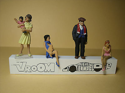 4  Figurines 1/43  Assortiment  A5  Assortment  Vroom  4  Unpainted  Figures