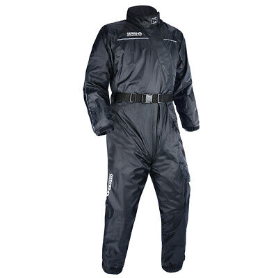 Oxford Rainseal Motorcycle Motorbike Over Suit Riding Oversuit S-6XL Black