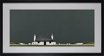 Tiree Cottage By Ron Lawson Framed Fine Art Print, Wall Decor