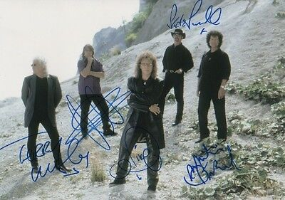 Smokie Autogramme full signed 20x30 cm Bild