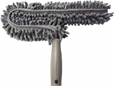 Unger Microfiber Duster 11 Inch Long, Gray