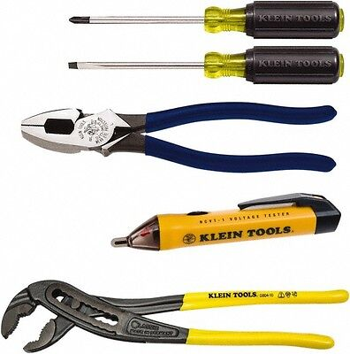 Klein Tools 5 Piece Maintenance Tool Set Comes with Box