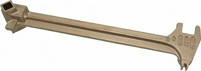 """Ampco 15"""" Long Aluminum Bronze Drum Plug Wrench For Use with 22 Different Bun..."""
