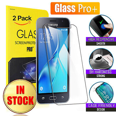 2X Tempered Glass Screen Protector for Samsung Galaxy J1 J3 J5 6 2016 Mini Prime