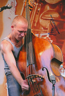 Avishai Cohen signed 8x12 inch photo autograph