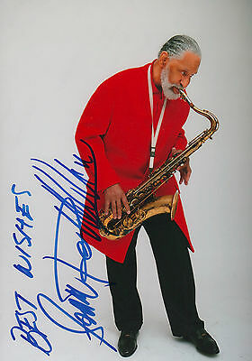 Sonny Rollins Jazz signed 8x12 inch photo autograph