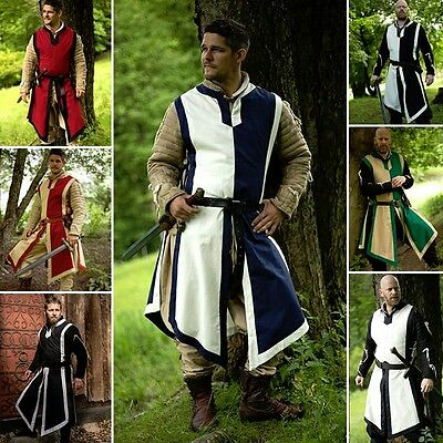 Basic Medieval Tabard - 7 Colours - Ideal For LARP / Re-Enactment