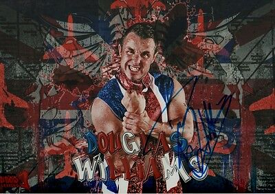 "Douglas Williams ""Wrestling"" Autogramm signed 20x30 cm Bild"