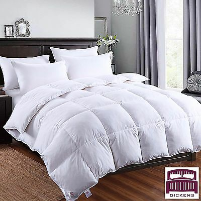 Duck Feather Duvet Quilt Bedding Luxury Hotel Quality 13.5 Tog Dickens