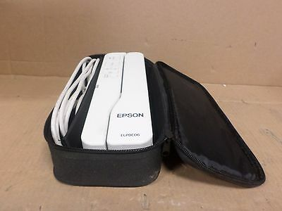 Epson ELPDC06 Document Camera. Comes with USB, and Vynil Case