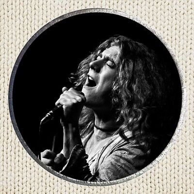 Robert Plant Patch Picture Embroidered Border Led Zeppelin Jimmy Page Rock Band
