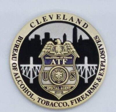 ATF  Challenge Coin Police Coin